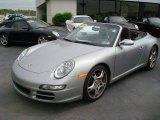 2008 Arctic Silver Metallic Porsche 911 Carrera S Cabriolet #8479690