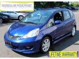 2011 Vortex Blue Pearl Honda Fit Sport #84986887