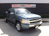 2010 Blue Granite Metallic Chevrolet Silverado 1500 LT Crew Cab #84992174