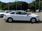 2013 Oxford White Ford Fusion S #84992047