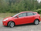 2012 Race Red Ford Focus SEL 5-Door #84992042