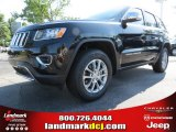2014 Brilliant Black Crystal Pearl Jeep Grand Cherokee Limited #84992089
