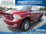 2011 Deep Cherry Red Crystal Pearl Dodge Ram 1500 Sport Crew Cab 4x4 #84992279