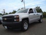 2014 Silver Ice Metallic Chevrolet Silverado 1500 WT Double Cab #84992069