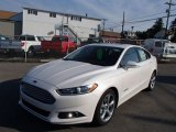 2013 White Platinum Metallic Tri-coat Ford Fusion Hybrid SE #84992324