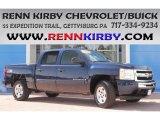 2009 Imperial Blue Metallic Chevrolet Silverado 1500 LT Crew Cab 4x4 #84992187