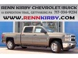 2014 Brownstone Metallic Chevrolet Silverado 1500 LT Crew Cab 4x4 #84992181