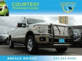 2012 Oxford White Ford F250 Super Duty King Ranch Crew Cab 4x4 #84992309