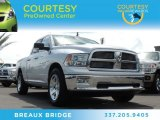 2012 Bright Silver Metallic Dodge Ram 1500 Big Horn Quad Cab #84992302