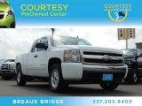 2008 Summit White Chevrolet Silverado 1500 LT Extended Cab 4x4 #84992301