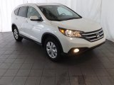 2013 White Diamond Pearl Honda CR-V EX-L #85023973
