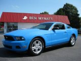 2011 Grabber Blue Ford Mustang V6 Coupe #85024549