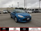 2012 Blue Candy Metallic Ford Focus SEL 5-Door #85024062