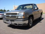 2003 Light Pewter Metallic Chevrolet Silverado 1500 LS Regular Cab #85024640