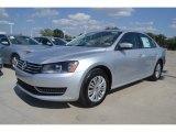 2014 Reflex Silver Metallic Volkswagen Passat 2.5L S #85024344