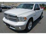 2014 Bright White Ram 1500 Big Horn Quad Cab #85024447