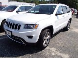 2014 Bright White Jeep Grand Cherokee Limited 4x4 #85023962