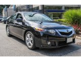 2010 Crystal Black Pearl Acura TSX Sedan #85024137