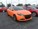 2013 Header Orange Dodge Dart SXT #85024619