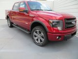 2013 Ruby Red Metallic Ford F150 FX4 SuperCrew 4x4 #85024252