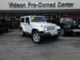 2012 Bright White Jeep Wrangler Sahara 4x4 #85024618