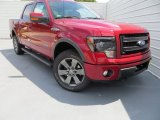 2013 Ruby Red Metallic Ford F150 FX4 SuperCrew 4x4 #85024250