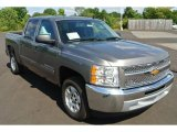 2013 Graystone Metallic Chevrolet Silverado 1500 LT Crew Cab #85024421