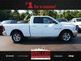 2014 Bright White Ram 1500 Big Horn Quad Cab 4x4 #85024007
