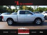 2014 Bright Silver Metallic Ram 1500 Big Horn Quad Cab 4x4 #85024006