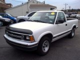 1996 Summit White Chevrolet S10 LS Regular Cab #85024313