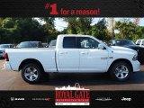 2014 Bright White Ram 1500 Sport Quad Cab 4x4 #85024004