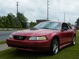 2000 Laser Red Metallic Ford Mustang V6 Coupe #8488101