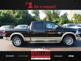 2013 Black Gold Pearl Ram 1500 Laramie Longhorn Crew Cab 4x4 #85023994
