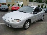 2001 Silver Frost Metallic Ford Escort ZX2 Coupe #8493449