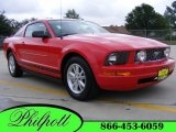 2007 Torch Red Ford Mustang V6 Premium Coupe #8494003