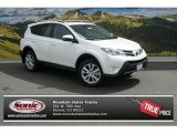 2013 Blizzard White Pearl Toyota RAV4 Limited AWD #85023909