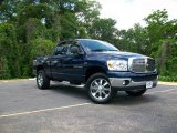 2007 Patriot Blue Pearl Dodge Ram 1500 SLT Quad Cab 4x4 #8492494