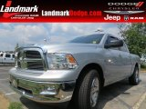 2012 Bright Silver Metallic Dodge Ram 1500 Big Horn Crew Cab #85024181