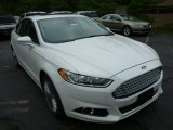 2013 White Platinum Metallic Tri-coat Ford Fusion Titanium #85066538