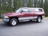 2001 Dark Garnet Red Pearl Dodge Ram 1500 SLT Club Cab 4x4 #8495302