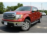2013 Ruby Red Metallic Ford F150 XLT SuperCrew 4x4 #85066821