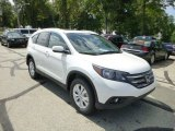 2014 White Diamond Pearl Honda CR-V EX-L AWD #85066896