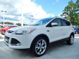 2014 White Platinum Ford Escape Titanium 1.6L EcoBoost #85066504