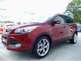 2014 Ruby Red Ford Escape Titanium 1.6L EcoBoost #85066503