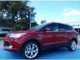 2014 Ruby Red Ford Escape Titanium 2.0L EcoBoost #85066502