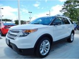 2014 White Platinum Ford Explorer XLT #85066499