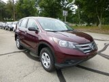 2014 Basque Red Pearl II Honda CR-V LX AWD #85066891