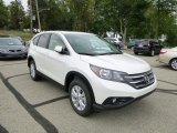 2014 White Diamond Pearl Honda CR-V EX AWD #85066889