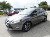 2014 Sterling Gray Ford Focus SE Sedan #85066404