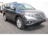 2014 Polished Metal Metallic Honda CR-V EX-L AWD #85066304